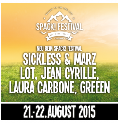 Lineup-Update beim Spack! Festival
