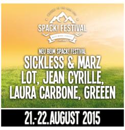 Lineup-Update beim Spack! Festival