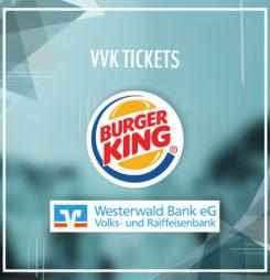 VVK bei Burger King und der WW Bank